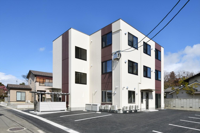 (有)エム・エス・ディ事務所併用賃貸住宅新築工事