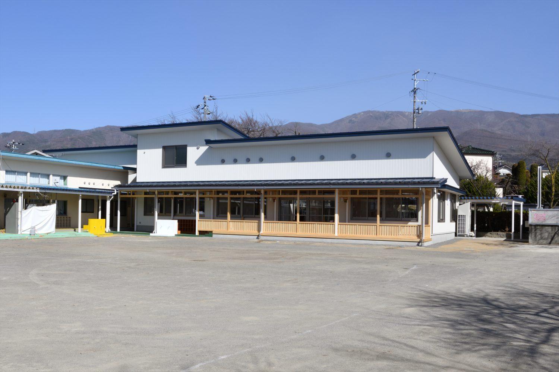 松本短大幼稚園認定こども園化施設増築・改修工事